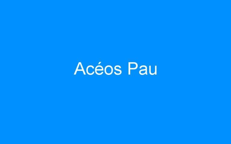 Acéos Pau