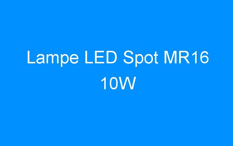 Lampe LED Spot MR16 10W