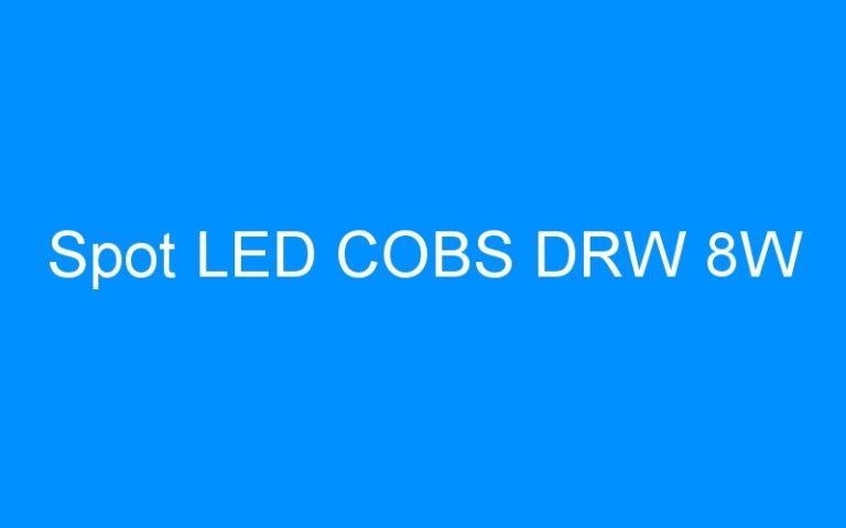 Spot LED COBS DRW 8W